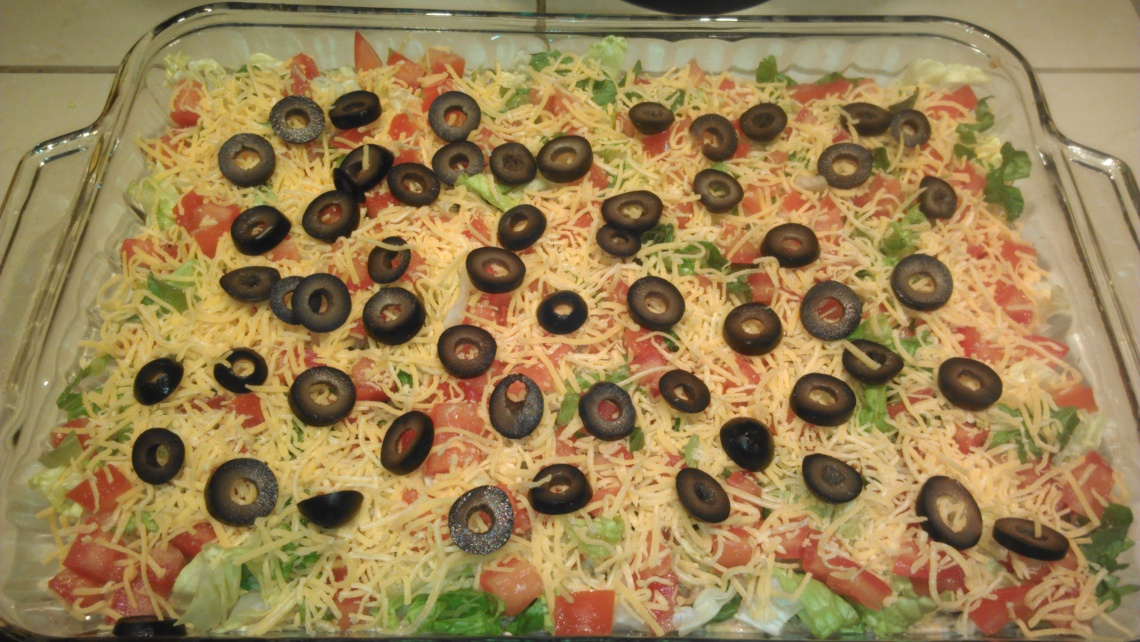 Low Carb Chicken Taco Casserole